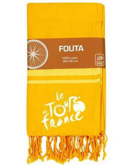 Fouta 95x190 cm + franges Tour de France HRP