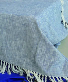 Plaid Coton 150x200 cm + franges Agadir