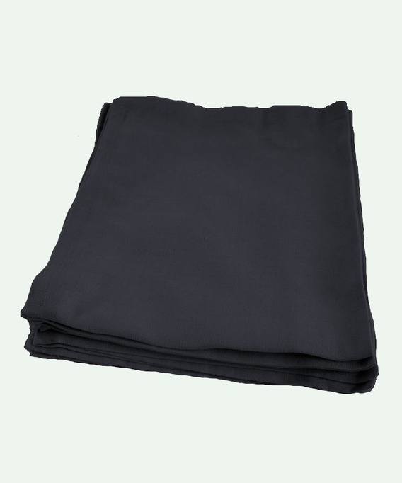 Lot de 6 Serviettes de table Coton 45x45 cm Yuco Anthracite