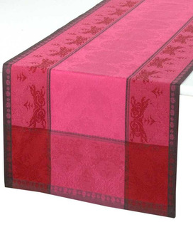 Chemin de Table Jacquard Verone Ibiscus