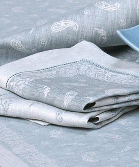 2 serviettes de table Chamarande Glacier