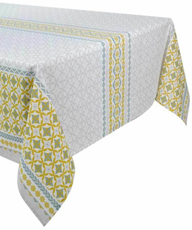 Nappe Rectangulaire Anti Tache 160x300 cm prix discount Maréva Curry